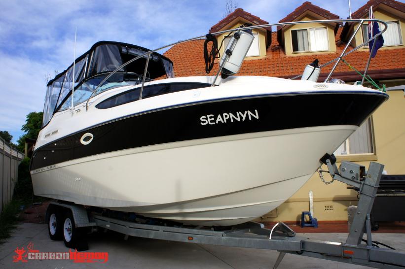 Boat Wraps Carbon Demon