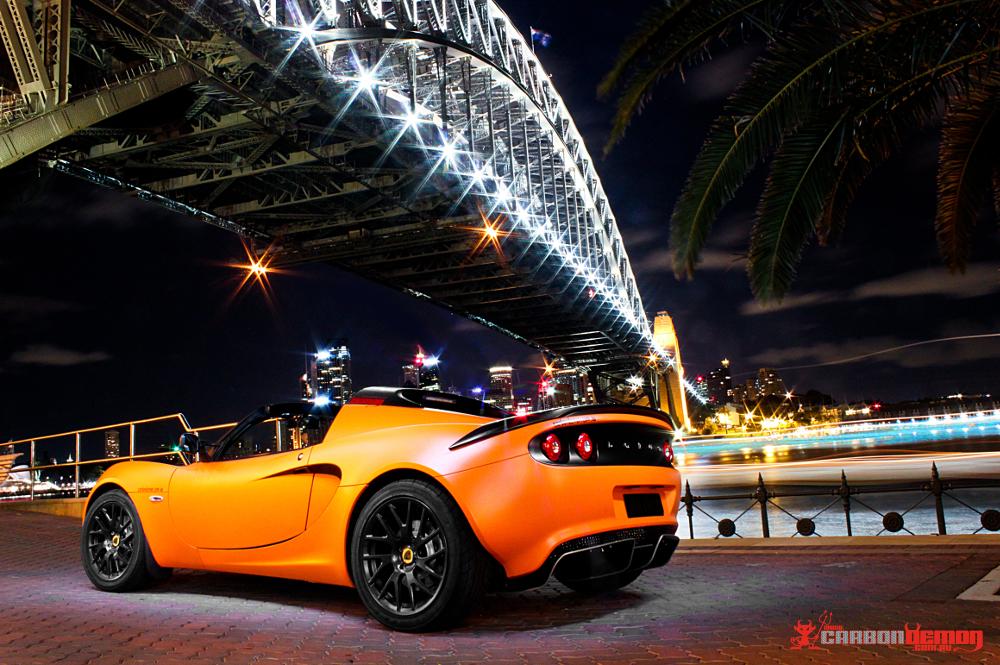 Matte Orange Lotus Elise