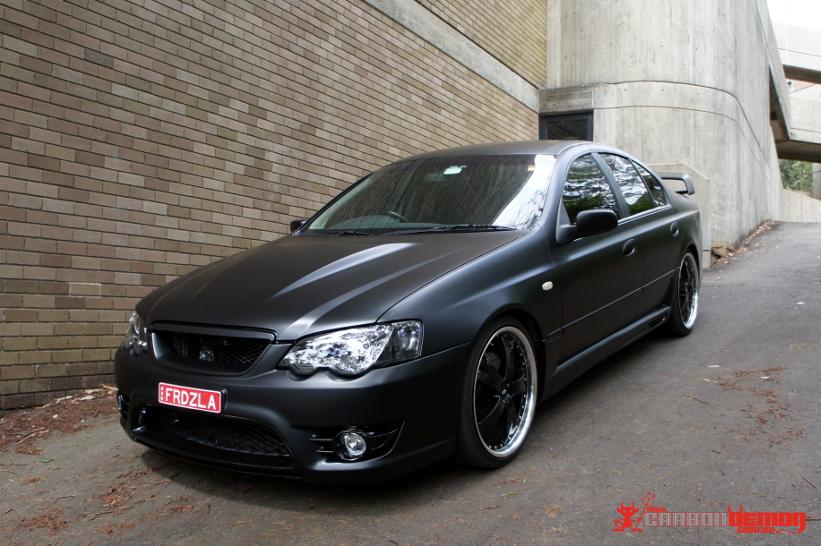 XR8 matte black