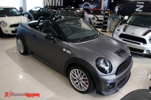 Mini Roadster special edition by Carbon Demon