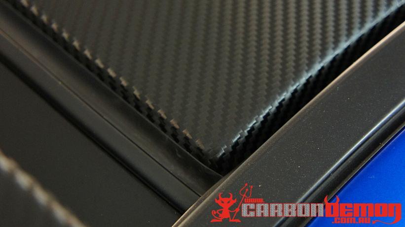 STi Carbon Fibre Roof Wrap
