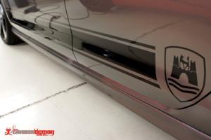 VW MK6 Wolfsburg vinyl stripe