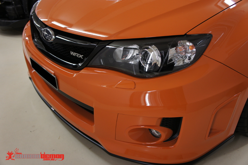 WRX ClubSport Gloss Black Grille