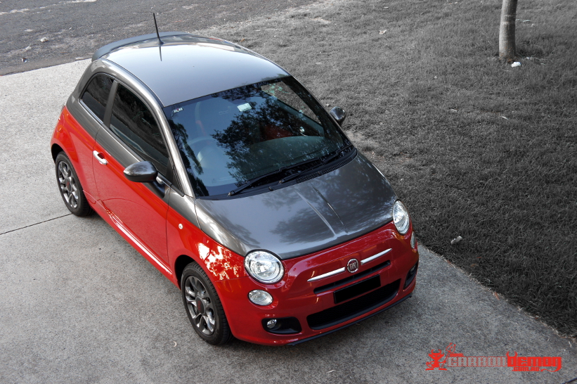Fiat 500 two-tone