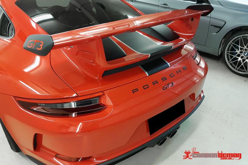 Porsche Vinyl Wrap